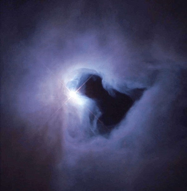 A Reflection Nebula in Orion