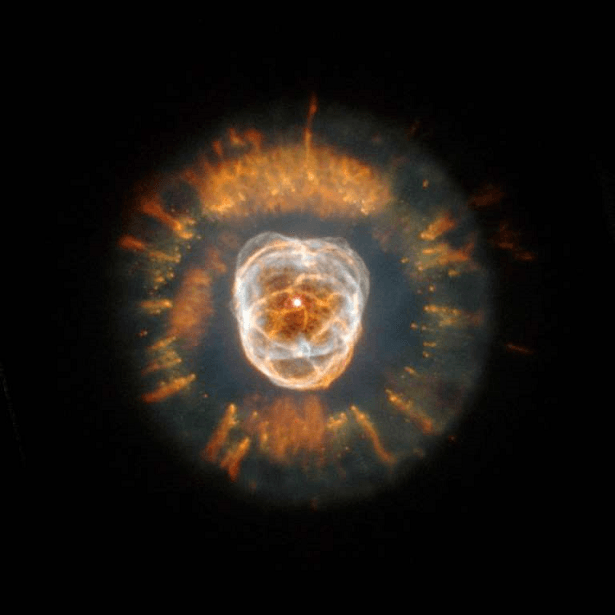 The Eskimo Nebula NGC 2392 Hubble
