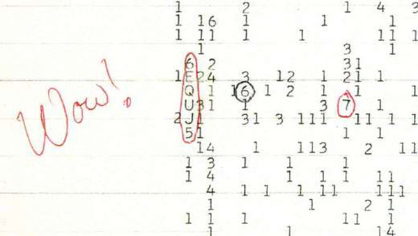 wow signal space